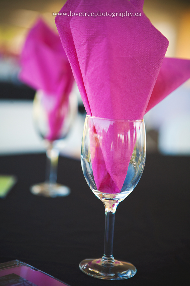 bright summer wedding colours at a langley wedding