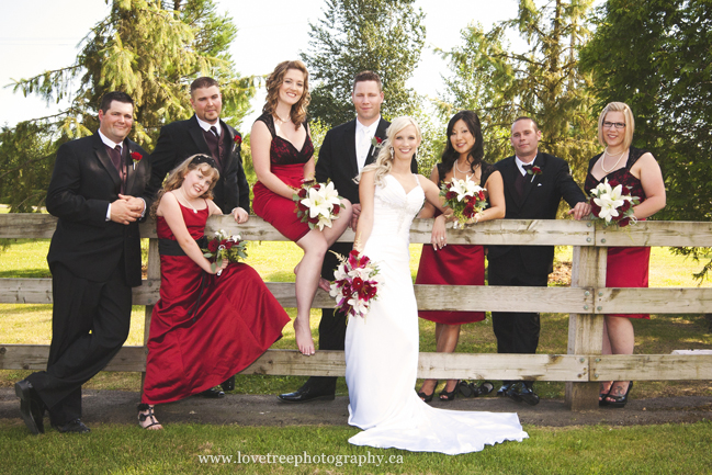 Redwoods wedding Party | image by Langley wedding photographer www.lovetreephotography.ca