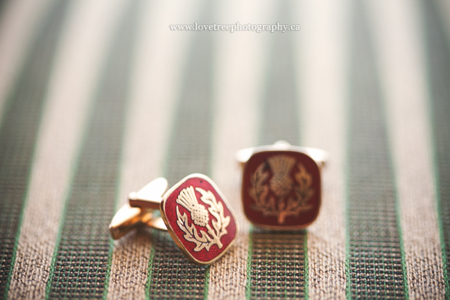 heritage cufflinks; image by vancouver wedding photographers www.lovetreephotography.ca