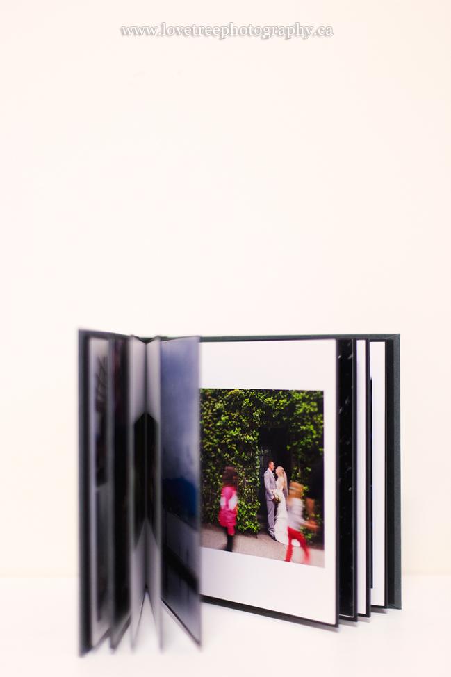 hand mounted wedding album by www.lovetreephotography.ca