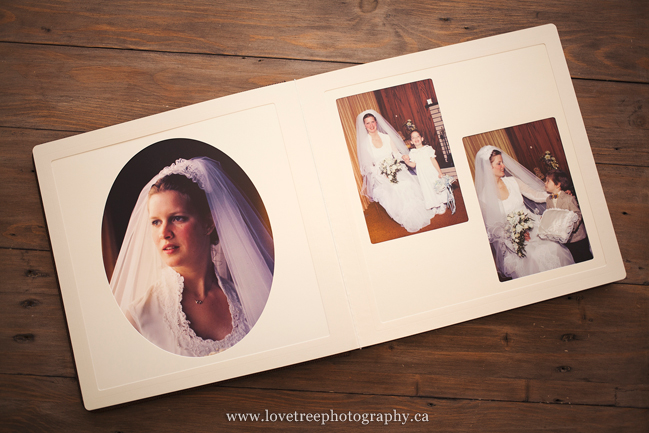 wedding album restorations by love tree photography