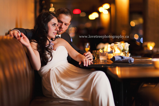 intimate yaletown wedding at the Parlour Restaurant