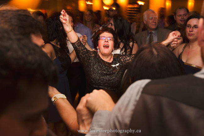greek dancing at a wedding in yaletown vancouver