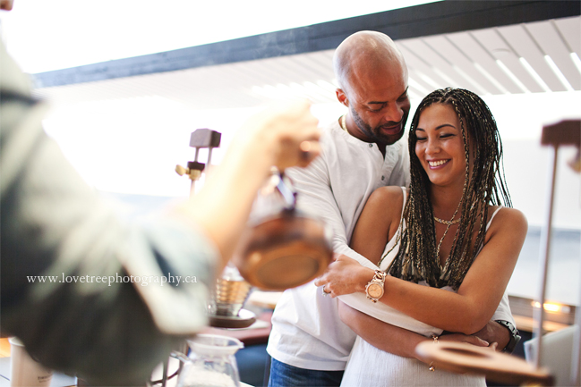 black engagement photographer