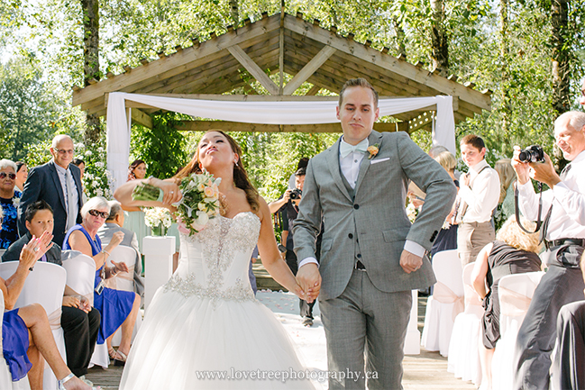 Fraser Valley weddings at Redwoods Golf Course
