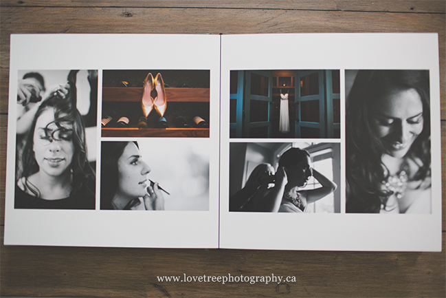 vancouver custom wedding albums